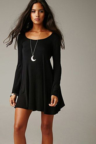 Gypsy Warrior Sabrina Bell Sleeve Dress Long Cool Woman In A Black