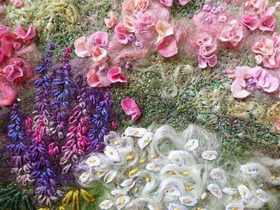 stunning embroidery on felt