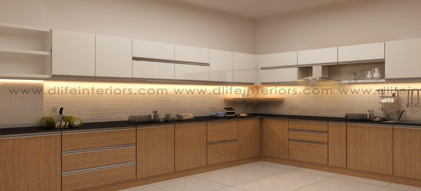 Best Wave Modular Kitchen Design L Shaped Kitchen L Shaped 400 x 300