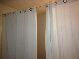 Diy Room Divider Great For Garage Room Divider Curtain Metal