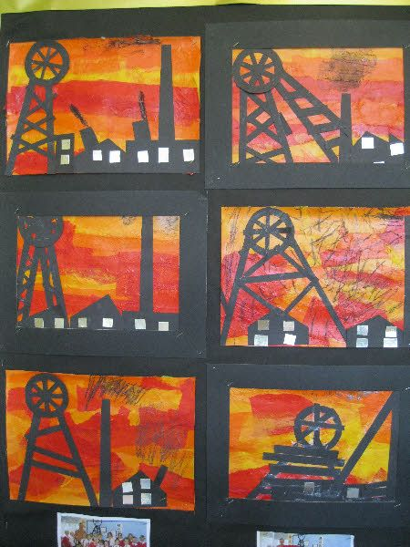 Coal Mining Art Heritage Week From Mary Coal Mining Victorian Artwork Victorian Art