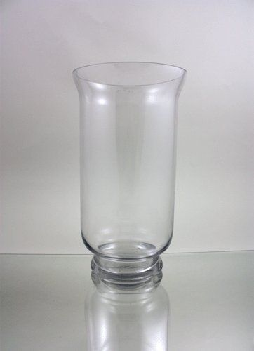 Wgv Clear Hurricane Glass Vasecandle Holder 15 Inch Continue