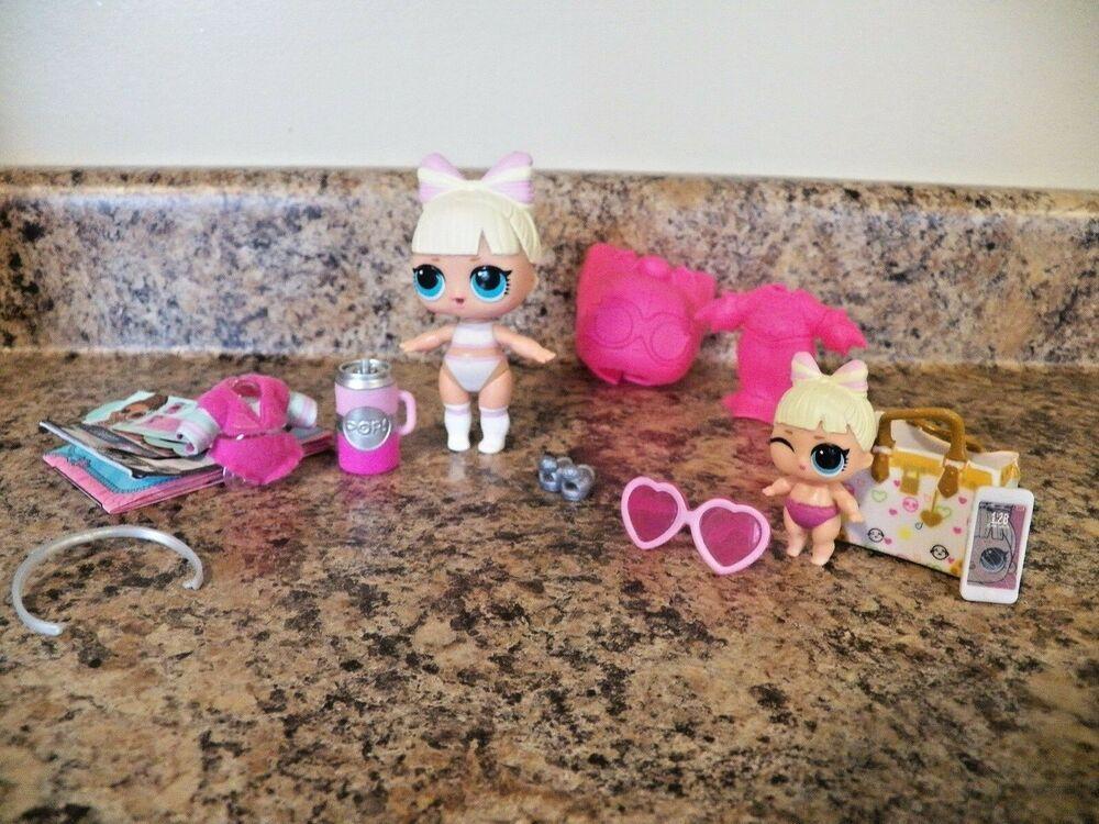 Lol Surprise L.O.L unicorn lil dolls color change sdit