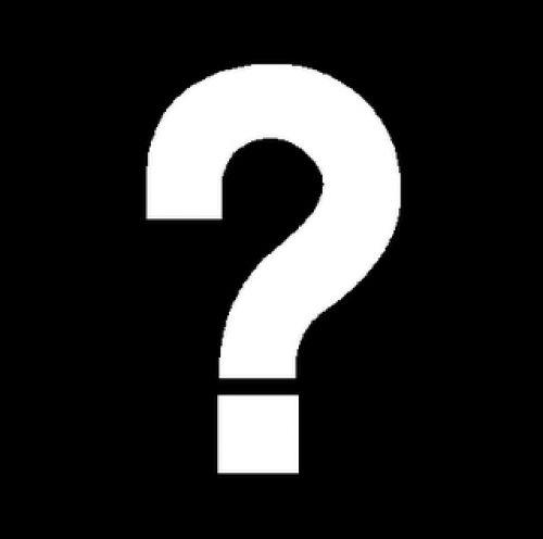 صور من علامة استفهام السوداء Nb10412 Question Mark This Or That Questions Papal Bull