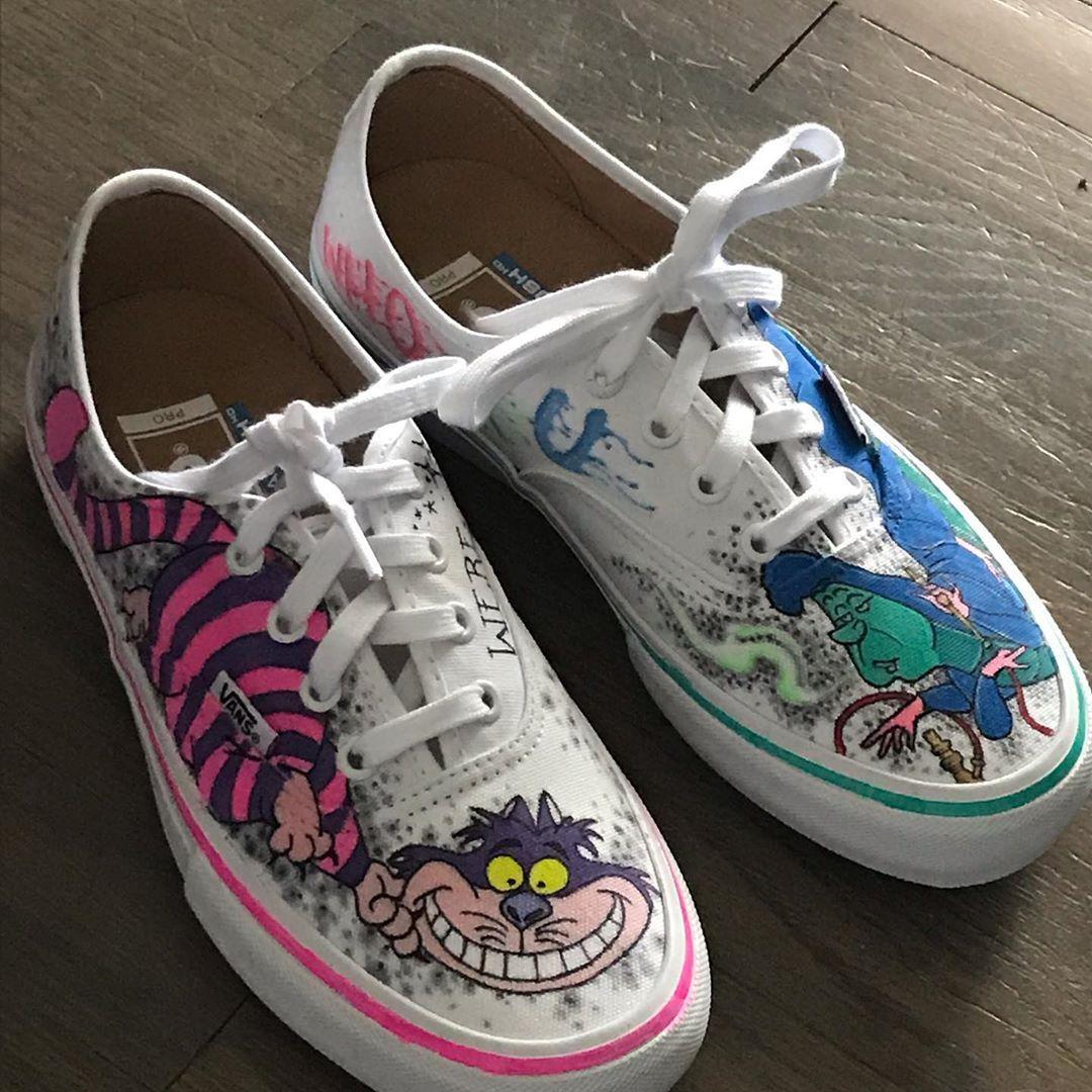 vans fantasia scarpe