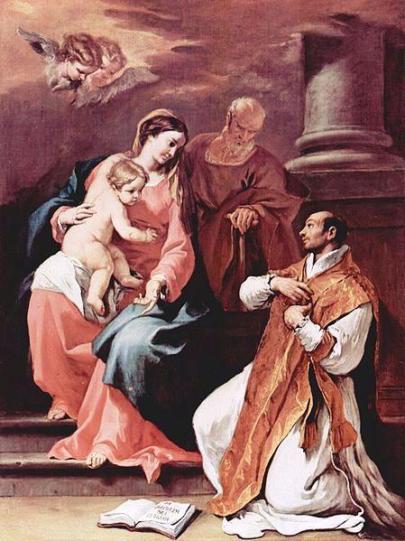 La Sagrada Familia Y San Ignacio De Loyola San Ignacio De Loyola Pinturas Imágenes Religiosas
