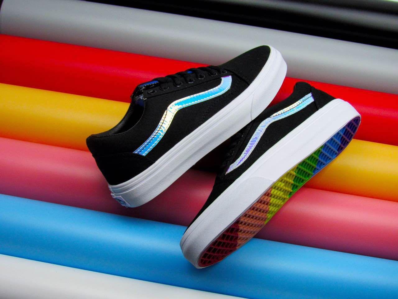 05268e122b1d 2017 Vans Old Skool Low Classic Colorful Skate Shoes  Vans ...