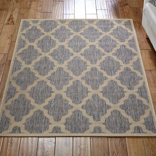 Online Carpets Uk >> Trellis Rug In Grey Buy Online From The Rug Seller Uk Rugs