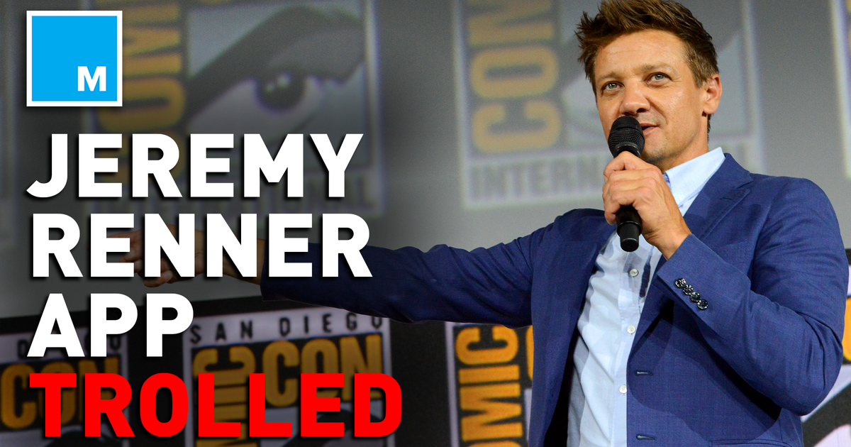 Trolls cause shutdown of Jeremy Renner's fan app Jeremy