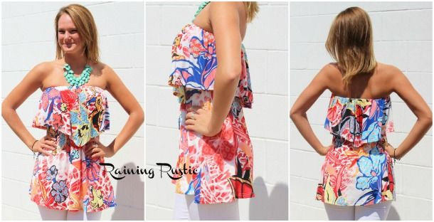 Tropical Spring Tunic