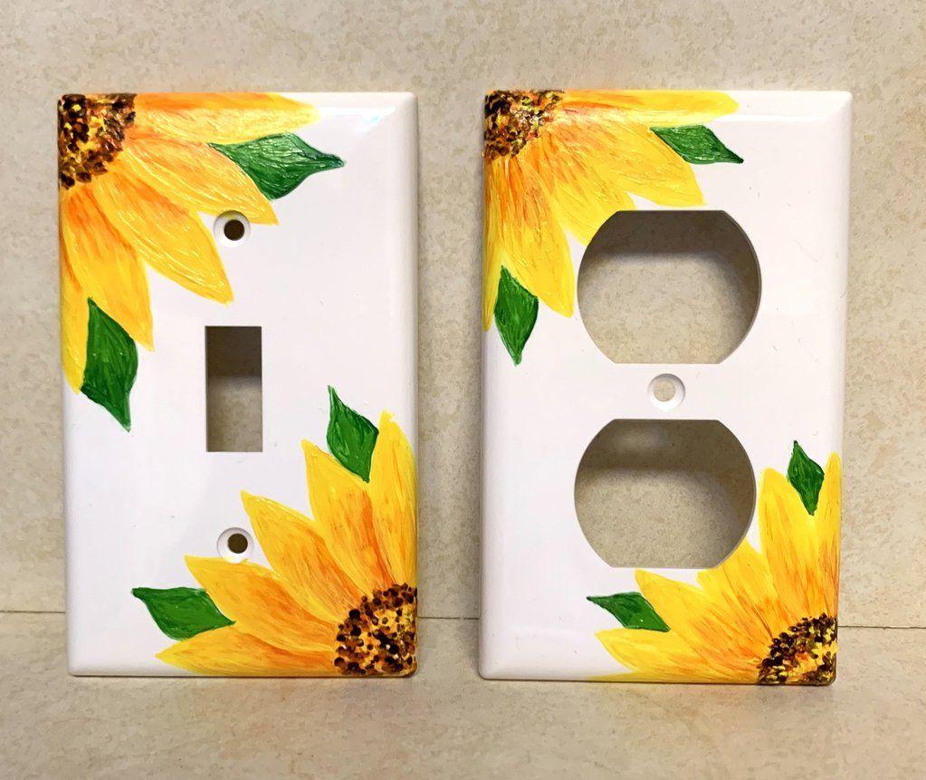 Sunflower Light & Outlet Cover