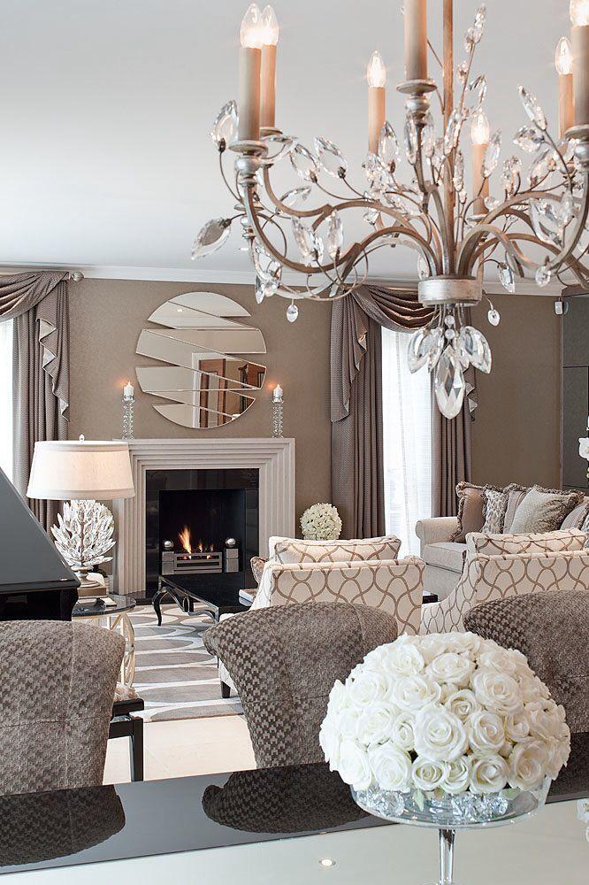 Room Decor Interior Design Idea Neutral Beige Khaki Grey