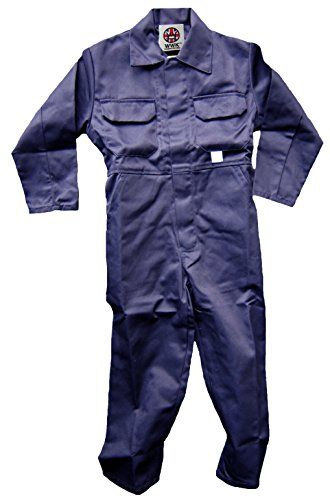 WWK Kids Childrens Boilersuit Overall Coverall Girls Boys