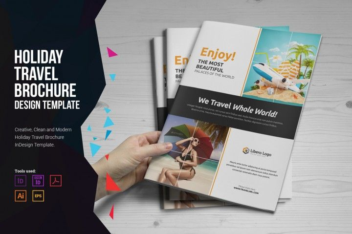 This Is Holiday Travel Brochure Design Was Created For Travel Agency