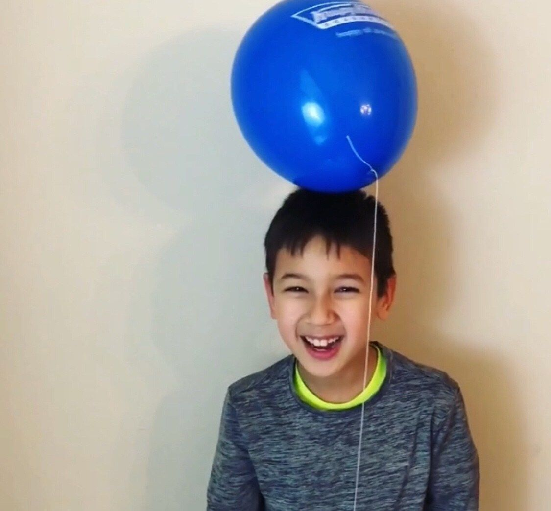 Balloon Static Electricity Experiment Ages 2