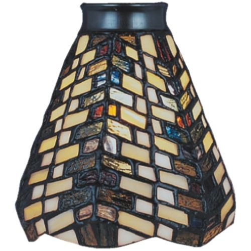 Elk Lighting Conical Tiffany Glass Shade 2 1 4 Inch