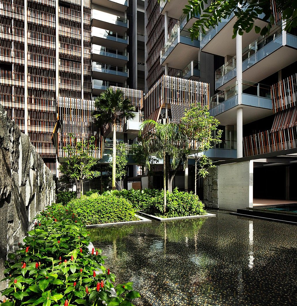 Memo From Singapore New Builds Condominium architecture