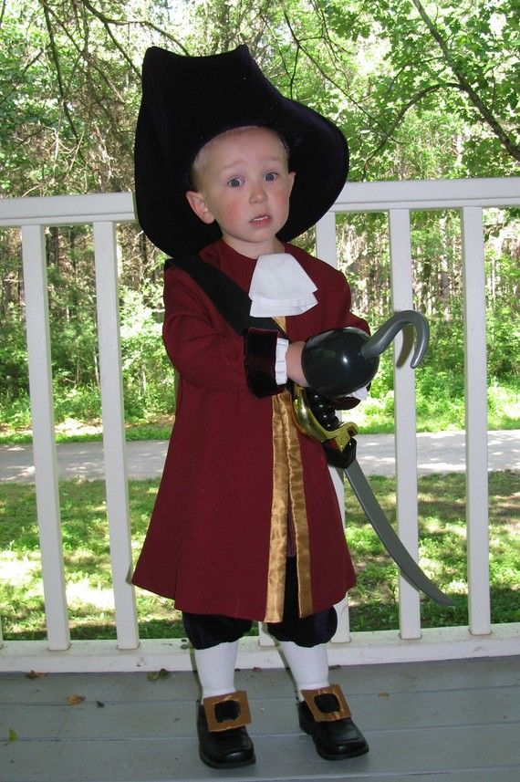 Childu0027s Captain Hook Costume Custom Made By NeverbugCreations, $400.00