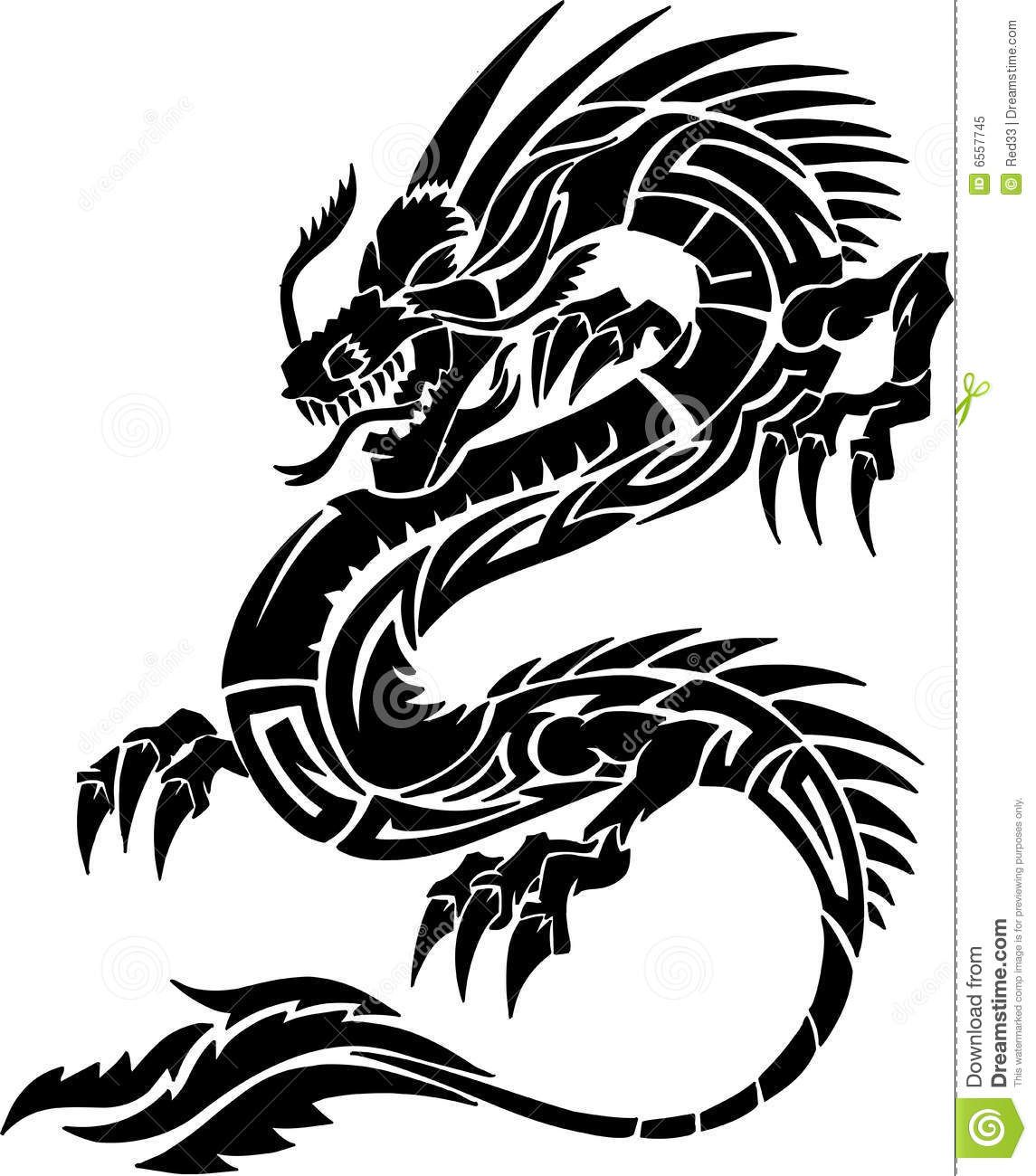 Tribal Tattoo Dragon Download From Over 68 Million High Quality Stock Photos Images Vectors Sig Celtic Dragon Tattoos Tribal Dragon Tattoos Tribal Tattoos