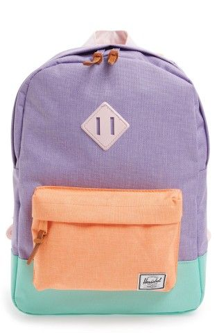 a15f86755a2 Herschel Supply Co.  Heritage  Colorblock Canvas Backpack (Kids ...