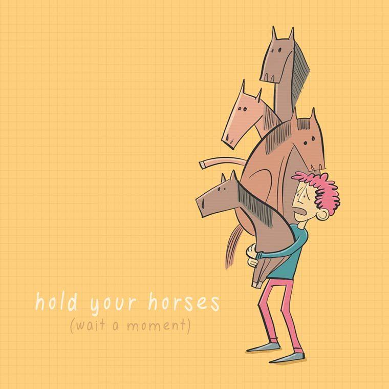 Expressões americanas explicadas com algumas ilustrações bonitas e engraçadas!