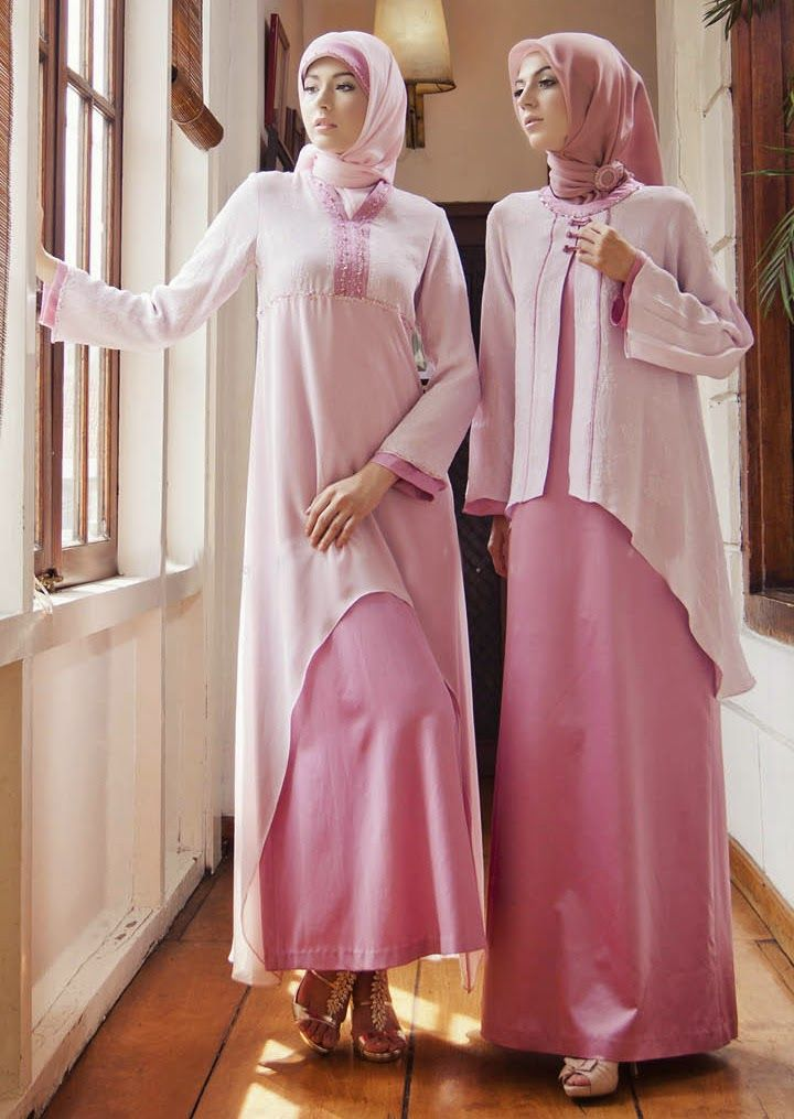 Model Baju Gamis Syar I Bahan Sifon Places To Visit Pinterest