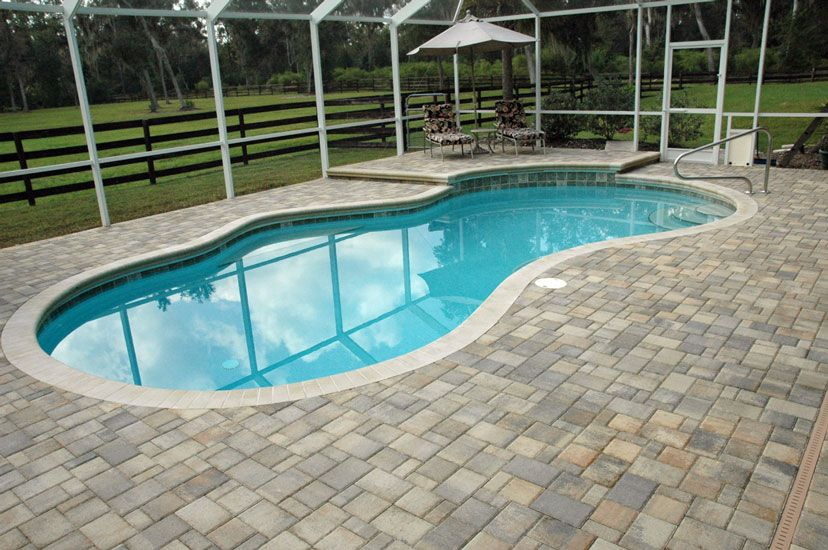Pool Paver Ideas french pattern travertine pavers around pool no border or very narrow border also more colour variation in the tiles decor ideas pinterest Gatorland Pavers Pool Decks