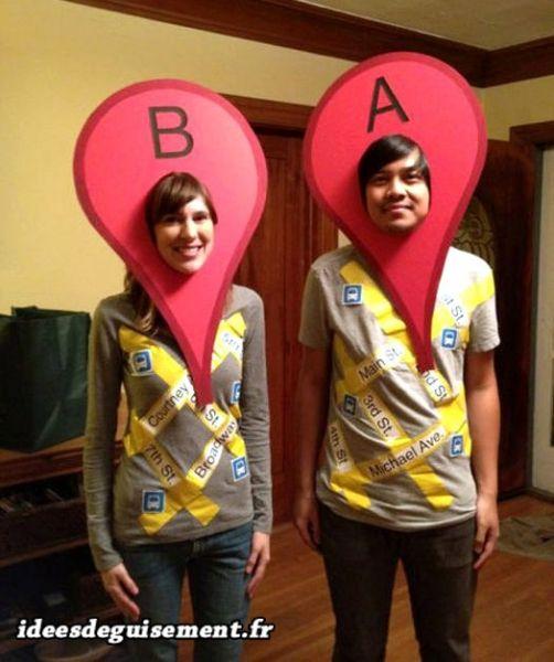 Trouvez ci-dessous toutes les idées originales de déguisement et - halloween couples costumes ideas