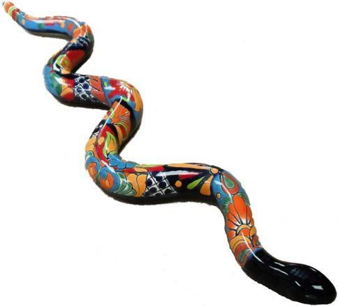 Talavera Snake Wall Hanging For The Home Pottery Store