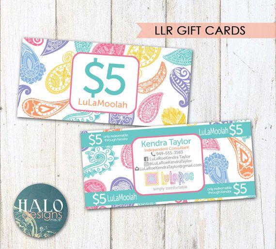 LuLaRoe Gift Cards LuLaMoolah Roe Ing In The By HALOdesignsSHOP