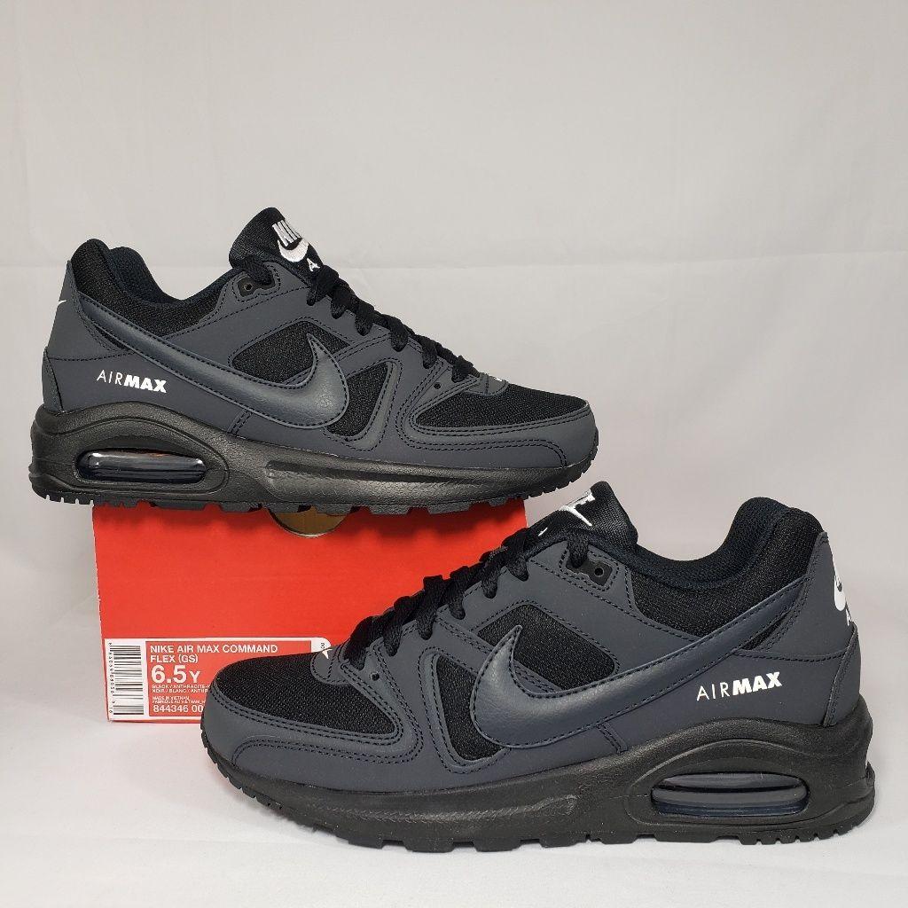 Nike Air Max Command Flex GS shoes grey
