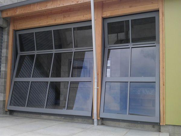 Overhead Bi Folding Door Residential Garage Doors Garage Doors