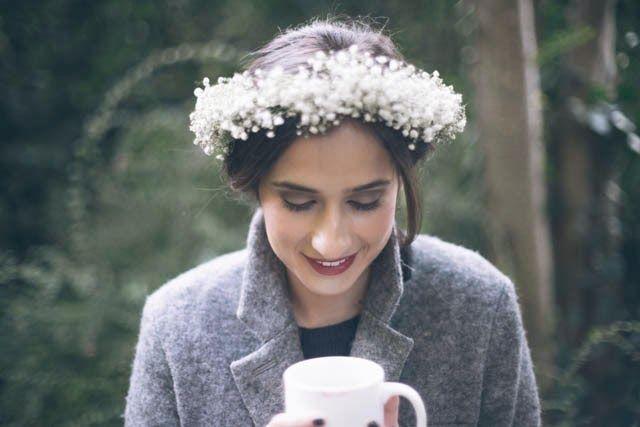 Trendy Wedding ♡ blog mariage • french wedding blog: La jolie coiffure de la mariée d'hiver {inspiratio...