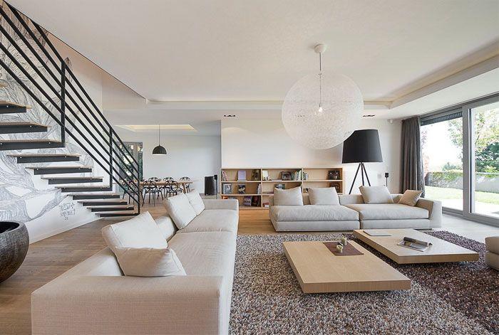 Elegant Interior of a Duplex Apartment | Home Ideas ...