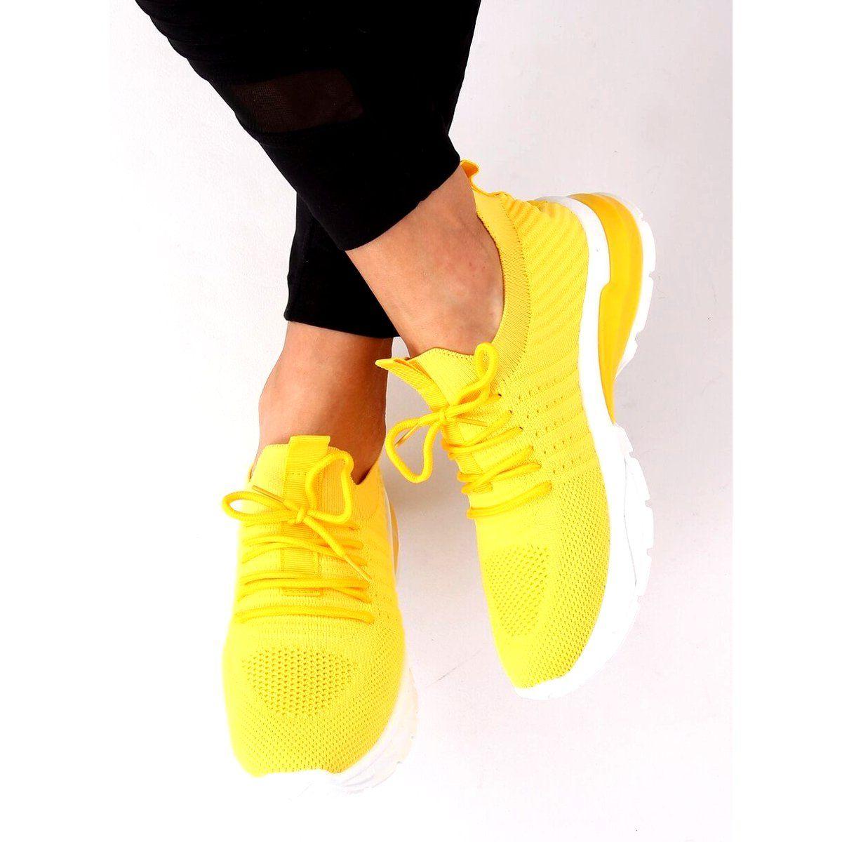 Buty Sportowe Zolte Zh 6 Turmeric Sneakers Nike Nike Free Sneakers