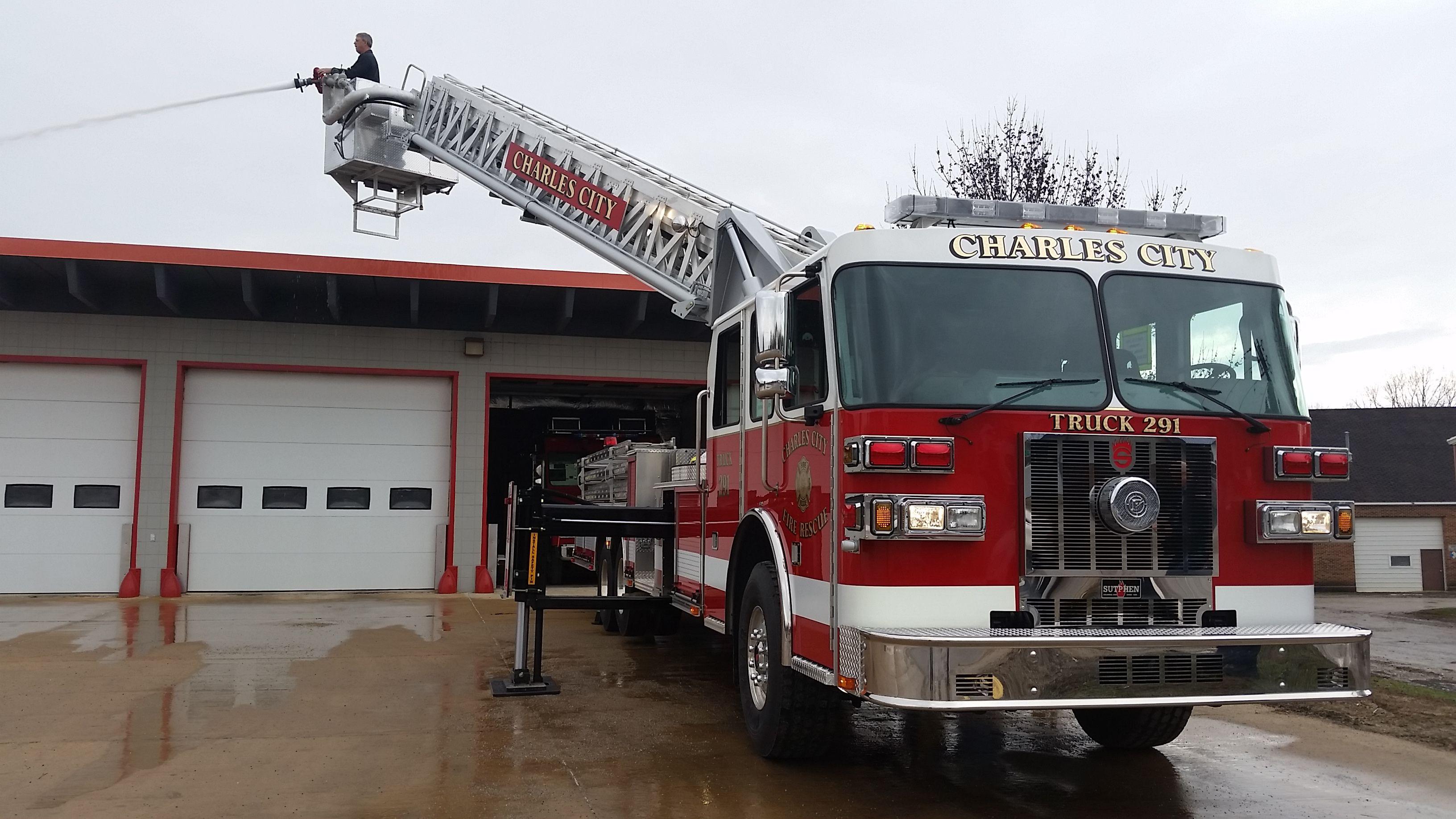 Charles City Truck 291 | Fire Trucks | Trucks, Fire trucks