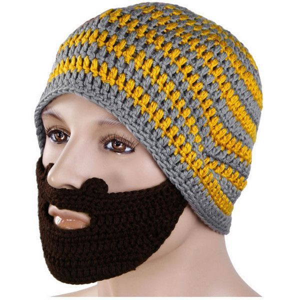 Winter Knit Crochet Beard Face Mask Ski Snow Warmer Hat Cap #crochetedbeards Winter Knit Crochet Beard Face Mask Ski Snow Warmer Hat Cap #crochetedbeards