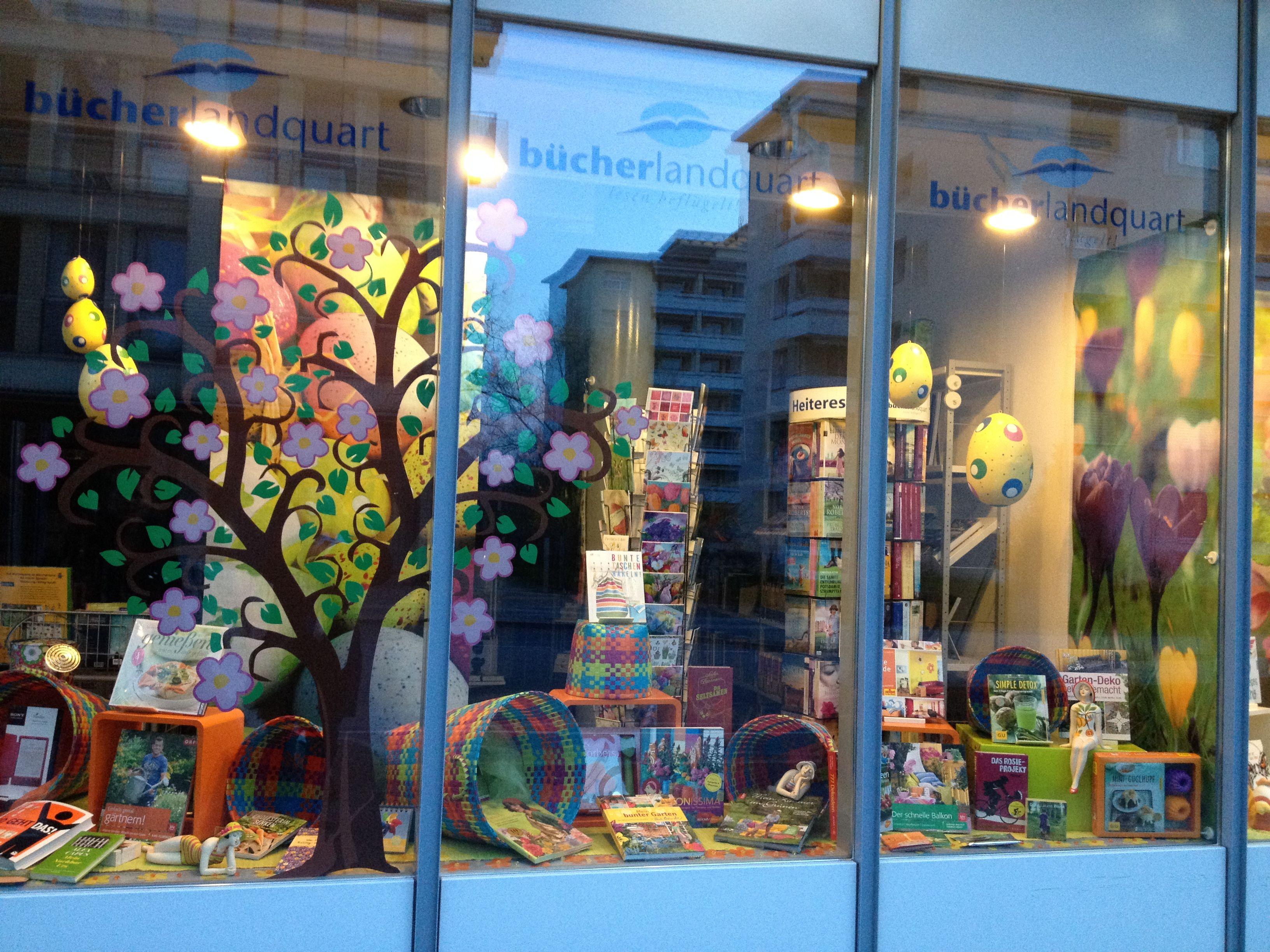 Frühlingsthema, Bücherlandquart