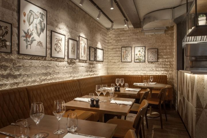 Canto Corvino Restaurant & Bar by B3 Designers, London – UK ...