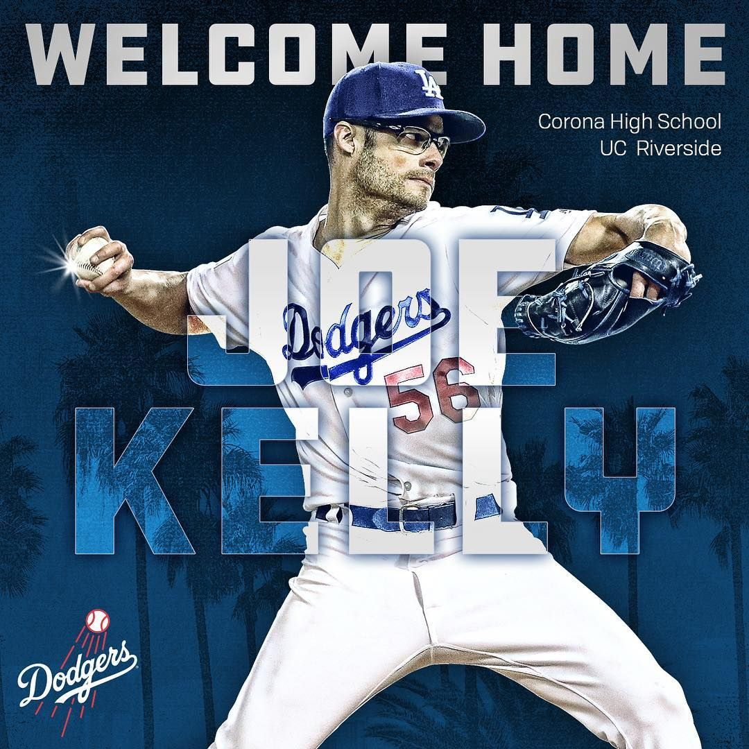 half off 4a9a9 9c577 Welcome home, Joe Kelly! The Dodgers today announced the ...