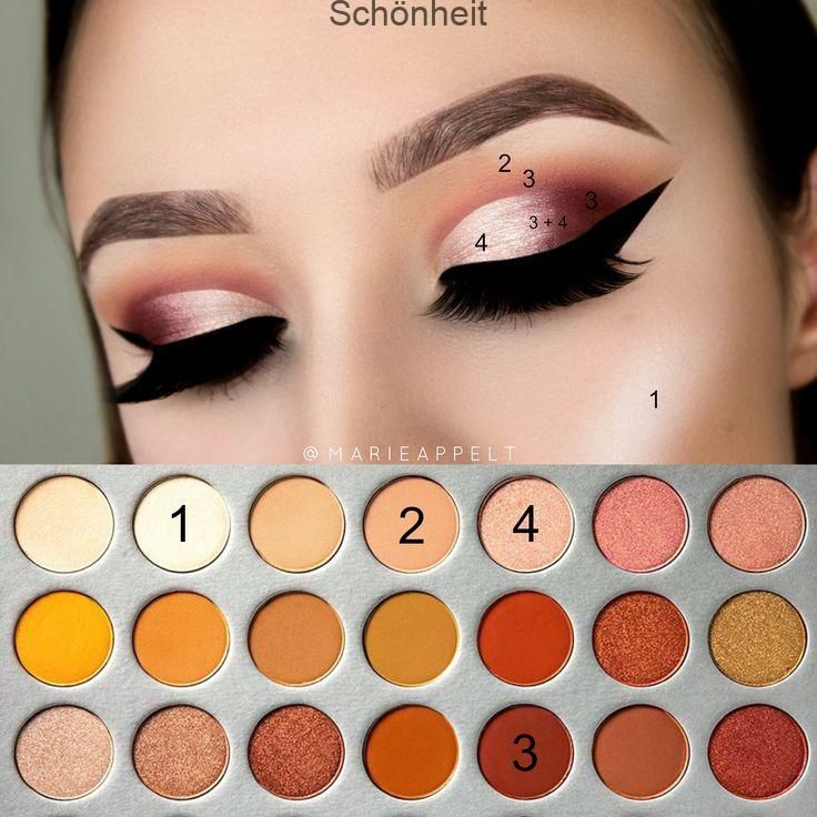 Photo of Morphe x Jaclyn Hill-Palette – Bildliches Makeup-Tutorial Einfach aussehen So in…