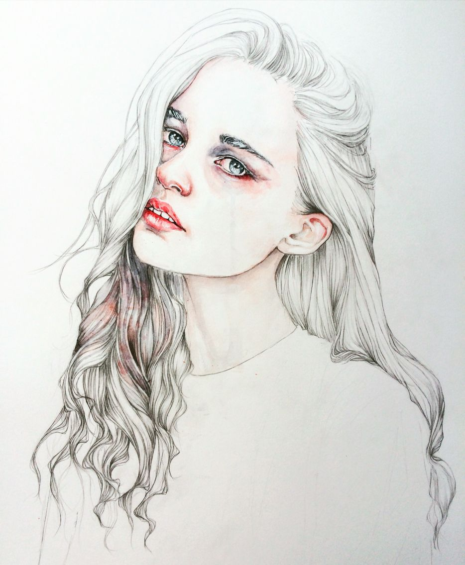 Portrait of Ali Michael by Rcbynn #watercolorportrait #watercolor #pencilportrait #winsorandnewton #watercolorart #watercolorillustration #moleskineart #rcbynn