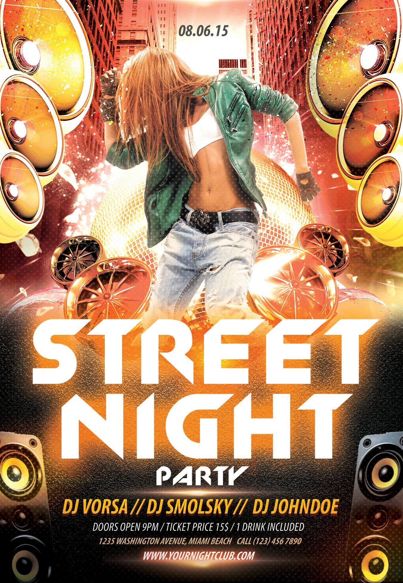 street night party flyer psd template by styleflyer com is street night party flyer psd template by styleflyer com is the best way to