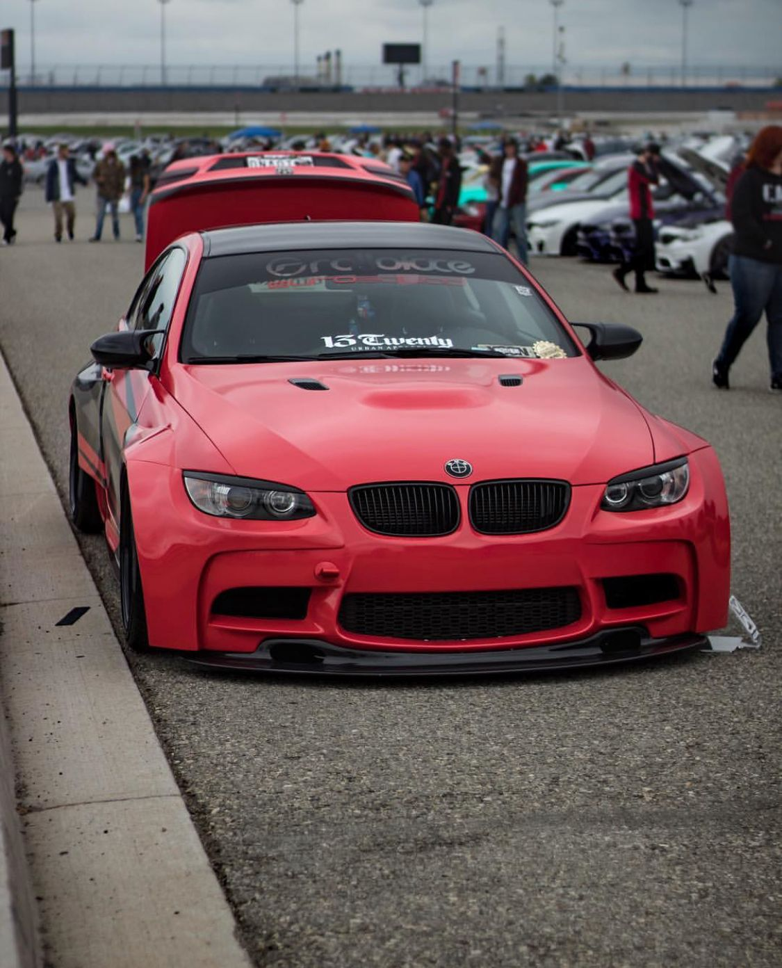 BMW E92 M3 GT3 Body kit: @rolloface #brakes #bbk #bigbrakekit