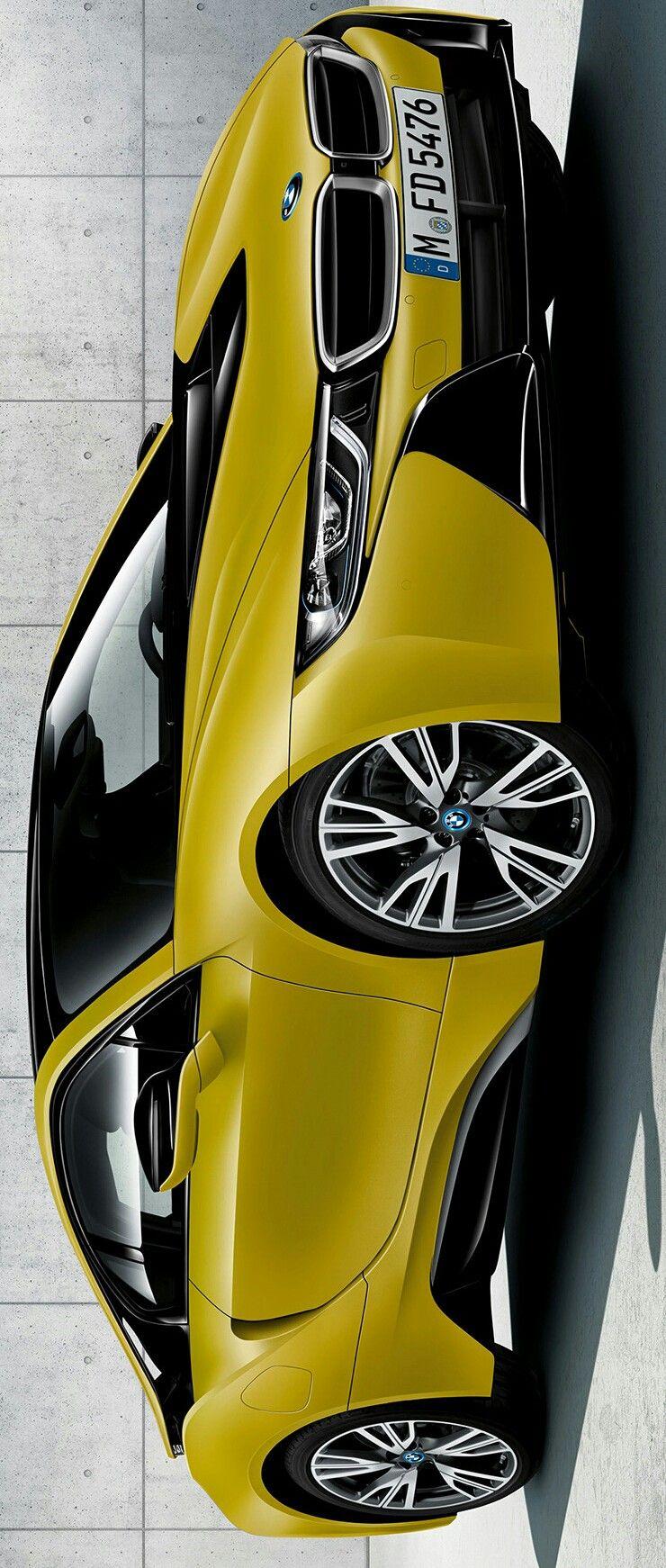 2017 Bmw I8 Protonic Frozen Yellow Edition Autozone Pinterest