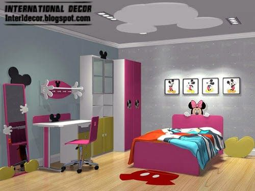 Top Kids Room Themes And Decorating Ideas Room Themes Kids Room Minnie Mouse Bedroom International ideas for kids rooms
