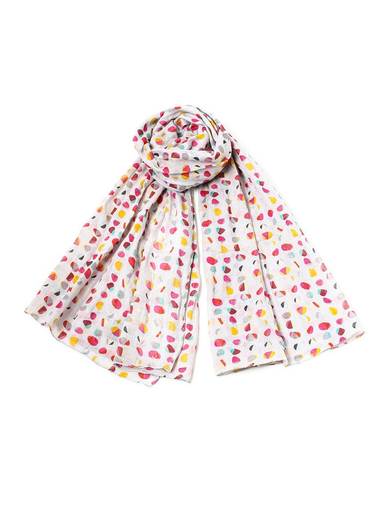 Flying A Nyc Cotton Stones Scarf By Sophia Costas Stone Scarf