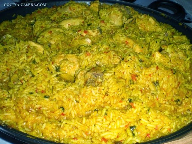 Arroz Pollo Habas Receta Paso Yellow Rice Arroz Con Pollo Yellow Rice Recipes