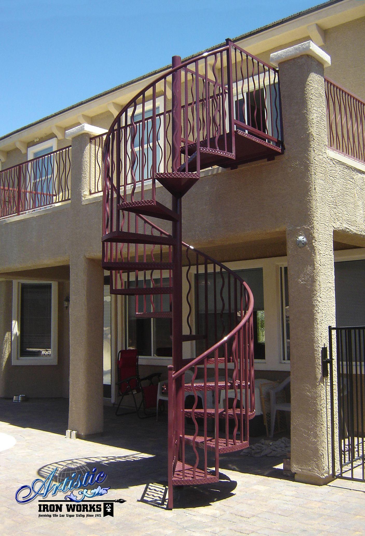 Best Custom Wrought Iron Spiral Stairs Ss0024 Escaleras 400 x 300