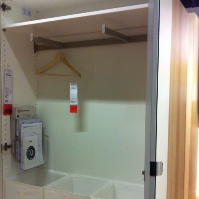 Shallow Wardrobe Shallow Cupboard Fit Out Pinterest